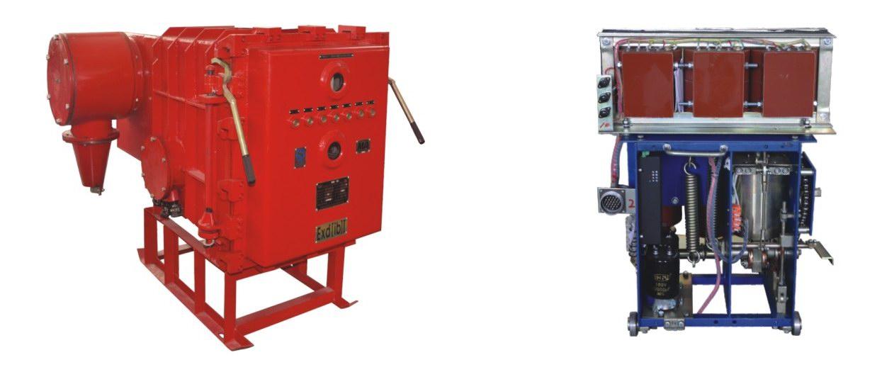 礦用隔爆兼本質安全型永磁機構高壓真空