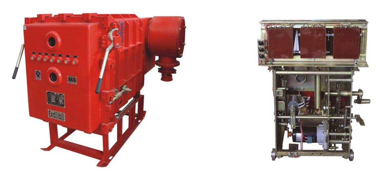 礦用隔爆兼本質安全型高壓真空配電裝置
